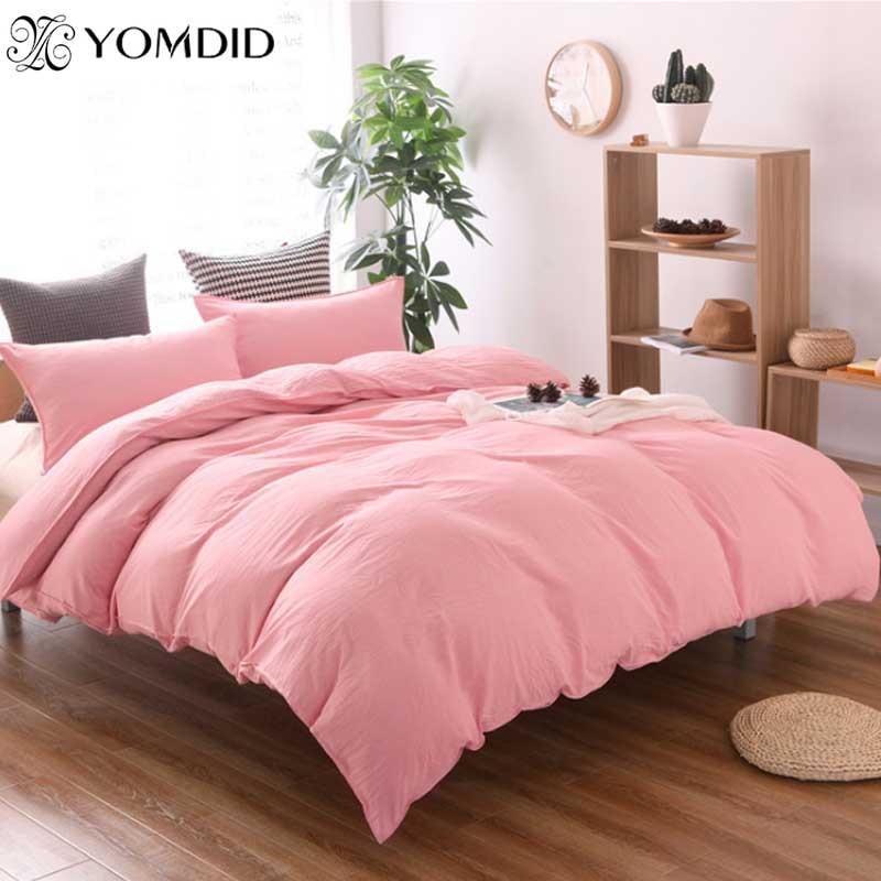 3bd8cb56018 Hongbo 4 unids set ropa de cama funda de edredón Super cama adultos ropa de