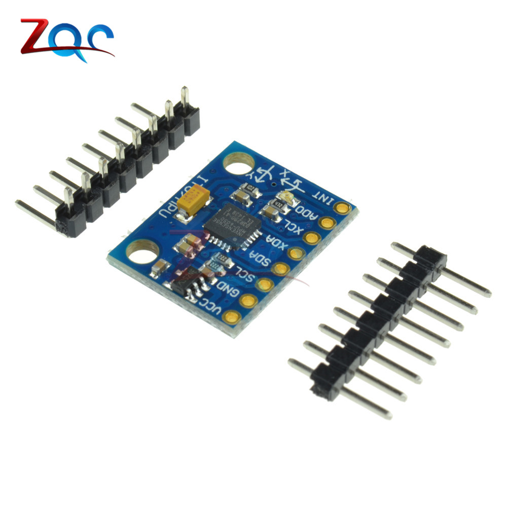 GY-521 GY521 GY 521 MPU-6050 MPU6050 MPU 6050 Sensor Module 3 Axis Analog Gyro Sensors Accelerometer for Arduino