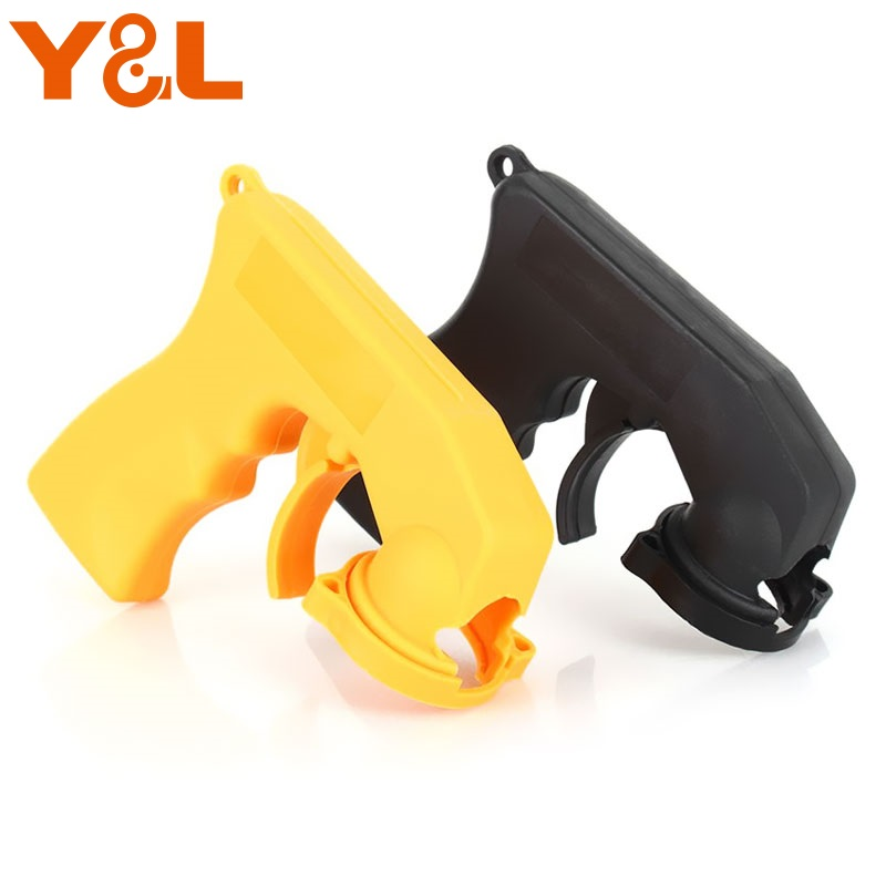 Y&L Spray Gun Handle Full Grip Trigger Locking Collar Spray Gun Handle Spray Gun Tools for Car Maintenance Spray Paint fudes spray
