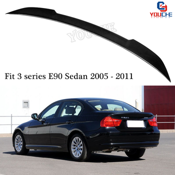 E90 CS Style Carbon Fiber Rear Spoiler Wing for BMW 3 Series E90 & E90 M3 Sedan 2005 - 2011 316i 318i 320i 325i 328i 330i 335i