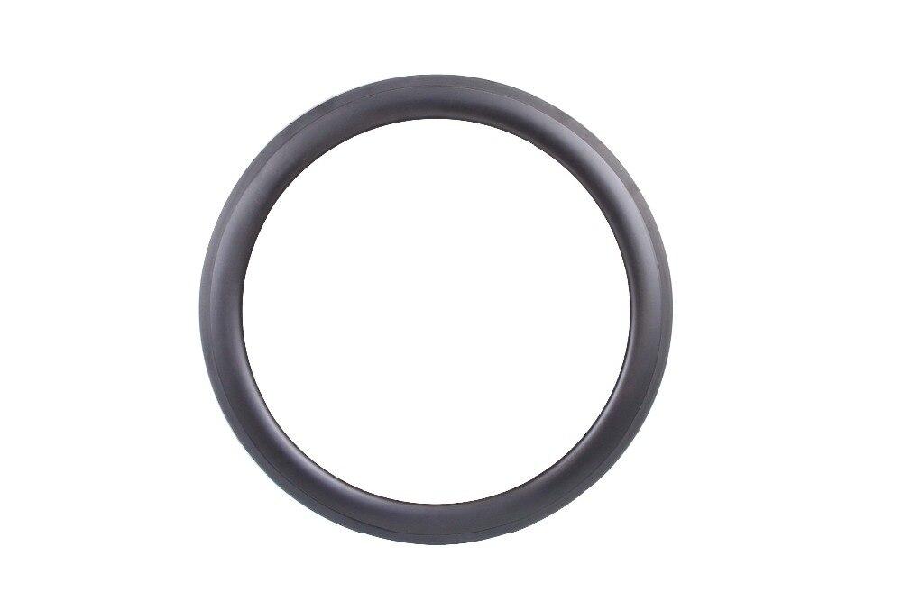 Fibers Toray 700C carbone vélo jantes 56mm pneu avant et arrière aero rayons 20 h/24 h de carbone 56mm jantes