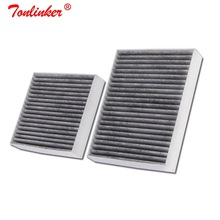 Cabine Filter Fit Voor Peugeot 2008 1.2T 1.4 1.6 Hdi Vti/207/208 Model 2007 2013 2014 2017 2018 2019 Carbon Filter Auto Accessoires