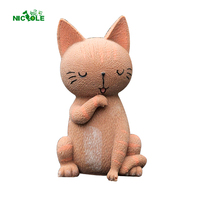 Nicole 3D Fox Shape Silicone Mousse Cake Mold Blast Chilling Ice Cream Custard Gelato Tools Handmade Chocolate Soap Candle Mould