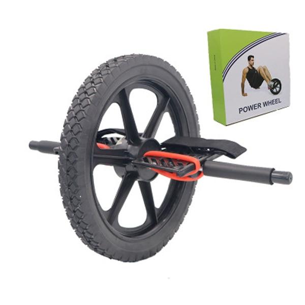 Rueda de potencia ruedas de entrenamiento de núcleo definitivo rueda Abdominal Ab rodillo para gimnasio ejercicio equipo de Fitness - 5