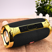 LIGE 2019 New Bluetooth Speaker Metal Portable Super Bass Wireless speaker Bluetooth4.1 3D Sound Loudspeaker Handfree MIC TW