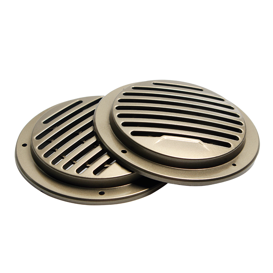 2PCS 3 INCH Protective Cover Subwoofer DIY Speaker Grill Mesh ABS Enclosure Net Protective Cover Subwoofer DIY