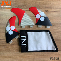 newest high quality surfboard FCS fins G5 surf fins (Tri set) made by honeycomb with bags