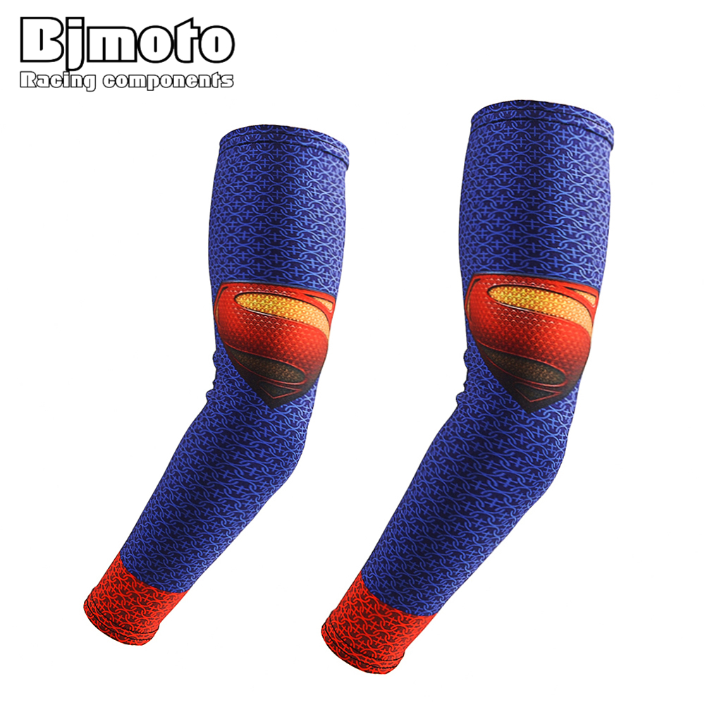 BJMOTO Outdoor Sunscreen Arm Sleeves Breathable Cuff Sleeves Cycling Hiking Running Arm Stockings UV Protective Arm Warmers