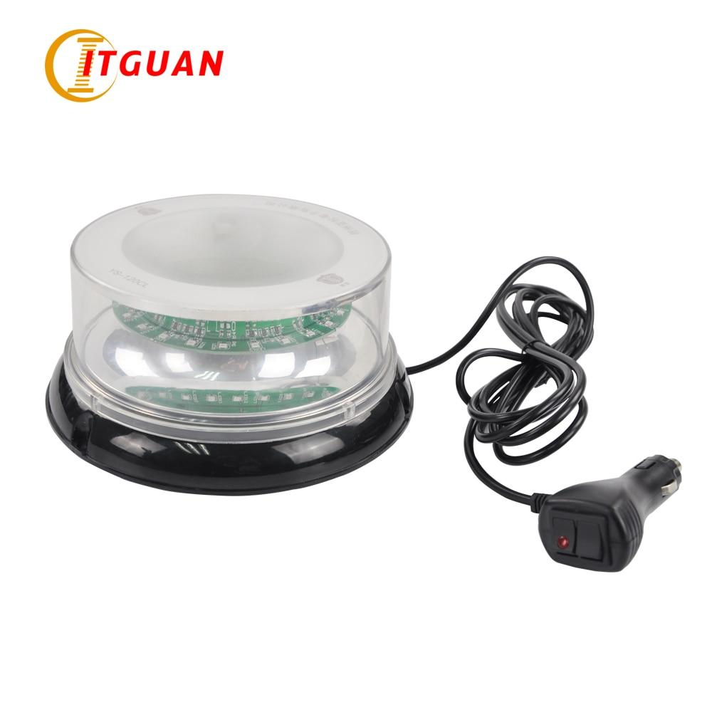 Vehicle Used Warning Light YS-120CL LED Multi-function Emergency Car Lights Warning Lights