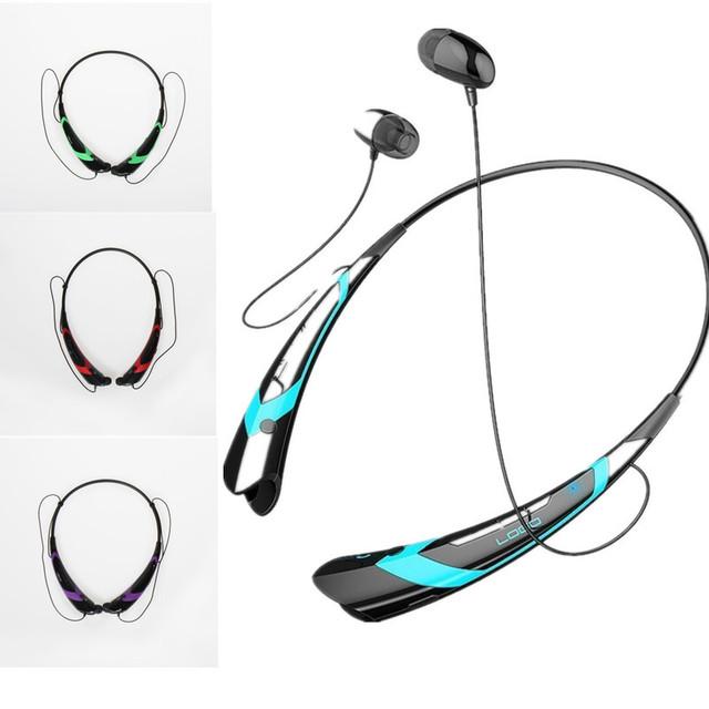CSR4.0 + EDR Bluetooth Auriculares de Música Inalámbrica Bluetooth Headset Deportes Manos Libres Auricular Bluetooth fone de ouvido