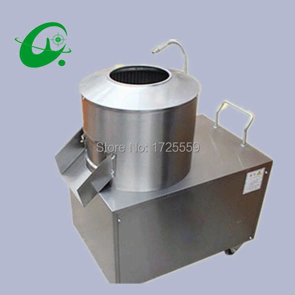 цена на Potato peeling machine 350 model 5-8kg/time, commercial peeler machine Potato Cleaning machine