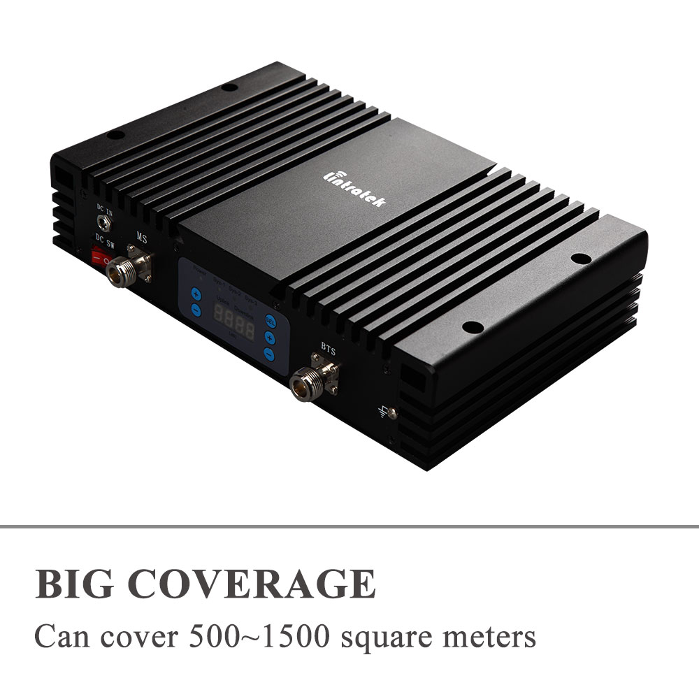 75db AGC MGC LCD 4G LTE 1800 MHz + 3G 2100 MHz double bande amplificateurs de Signal puissants 1800 + 2100 MHz téléphones portables répéteur de Signal Mobile # - 5