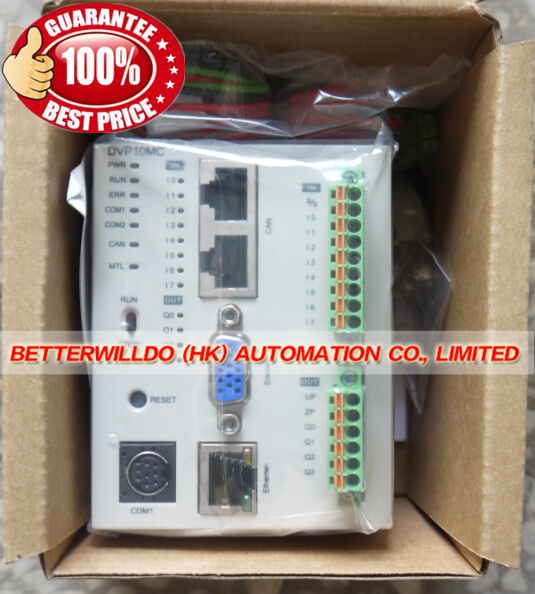US $1110 0 |DVP10MC11T New PLC DVP MC Series 24VDC 8DI 6DO CANopen DS402  Motion Controller 1 Year Warranty-in Electricity Generation from Home