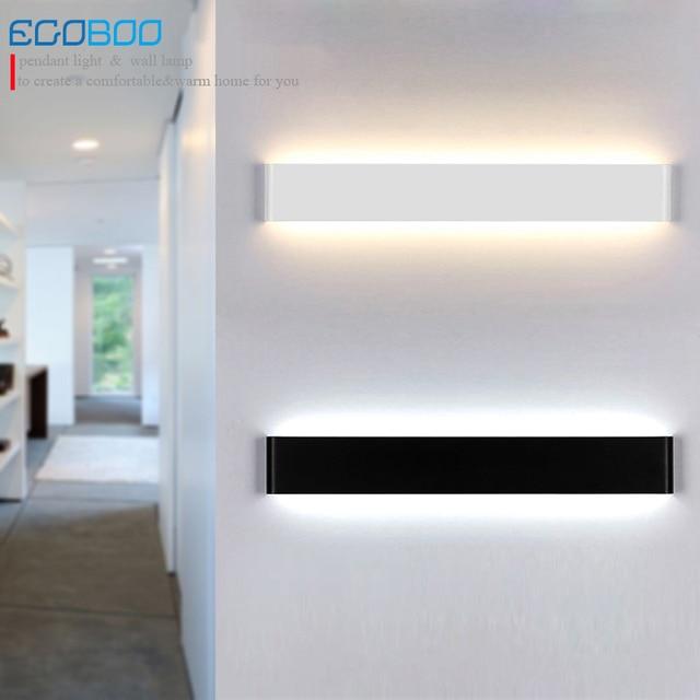 Innenwand linear Aluminium 20 watt 61 cm lange LED badezimmerspiegel ...
