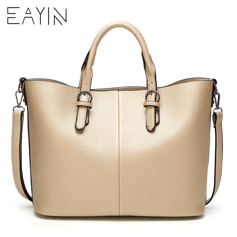 все цены на EAYIN Genuine Leather Women Handbag All-match Fashion Bags Female Shoulder Bag for Women Messenger Bag bolsa feminina 2018 онлайн