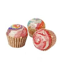 Luxury Cupcake Diamond Clutch bag women Crystal Evening Bag Fashion brand mini Soiree Purse Women Wedding Bride Cake Handbags