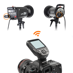 Image 5 - GODOX Xpro מ C E TTL 2.4 גרם אלחוטי במהירות גבוהה Sync 1/8000 s X מערכת במהירות גבוהה פלאש טריגר + 4x XTR 16 עבור Canon EOS מצלמות