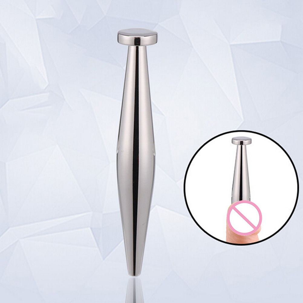 Adult Products Stainless Steel Penis Plug Urethral Sounds Stretching Male Chastity Device Urethral Dilators Catheters Dia 9mm
