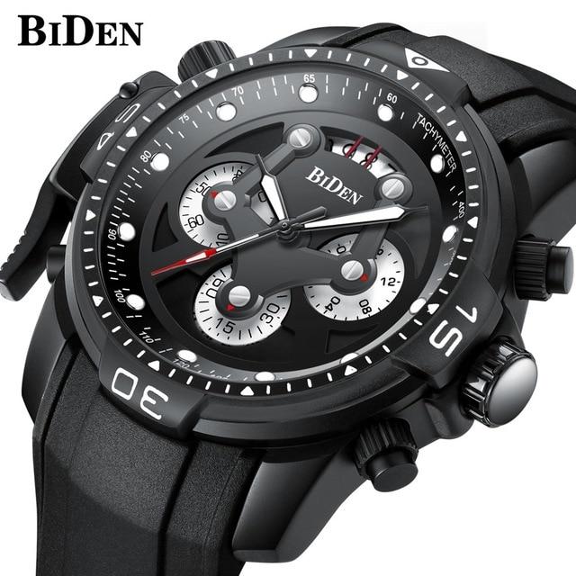 Bescheiden Top Marke Spaß Biden Herren Uhren Top Luxus Sport Military Quarzuhr Wasserdicht Datum Uhr Männer Mode Uhr Business Armbanduhr