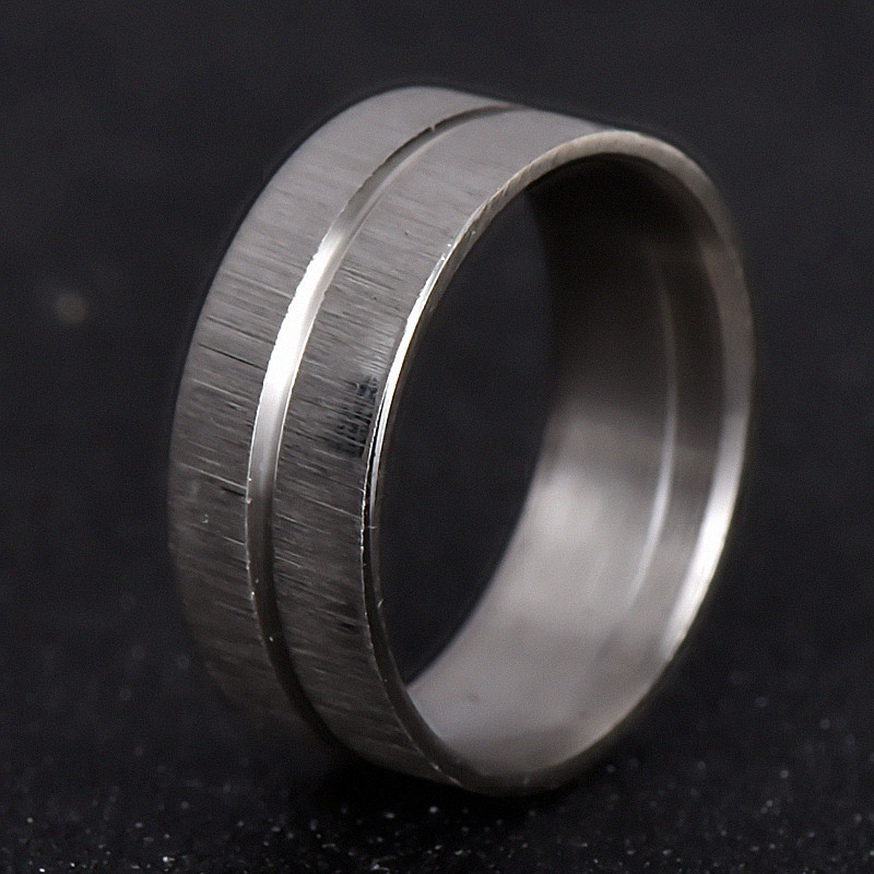 Wholesale Vintage Ring Silver Color Titanium 316L Stainless Steel Ring For Men Jewelry Gifts nj193