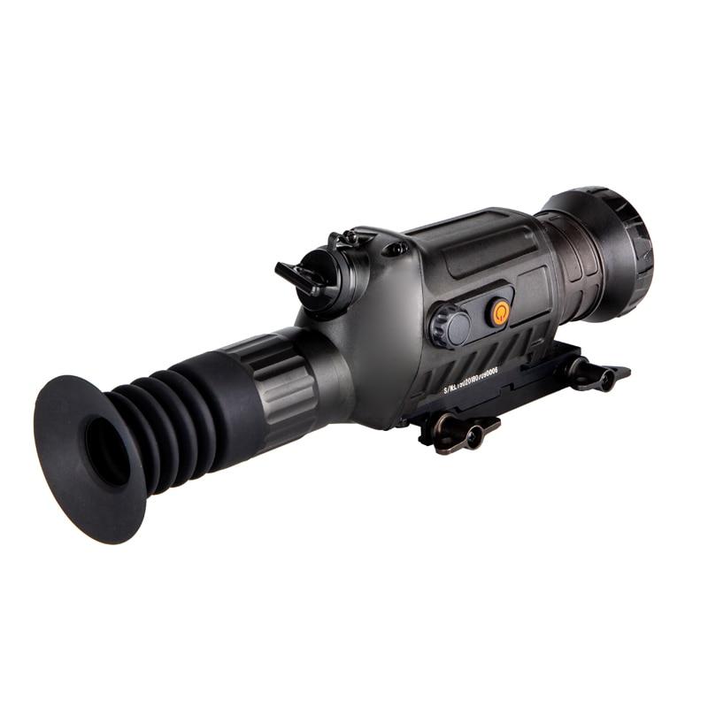 Longue portée tactique imagerie thermique Airsoft optique portée de fusil jour nuit chasse droite Vision équipement sous 1000 m