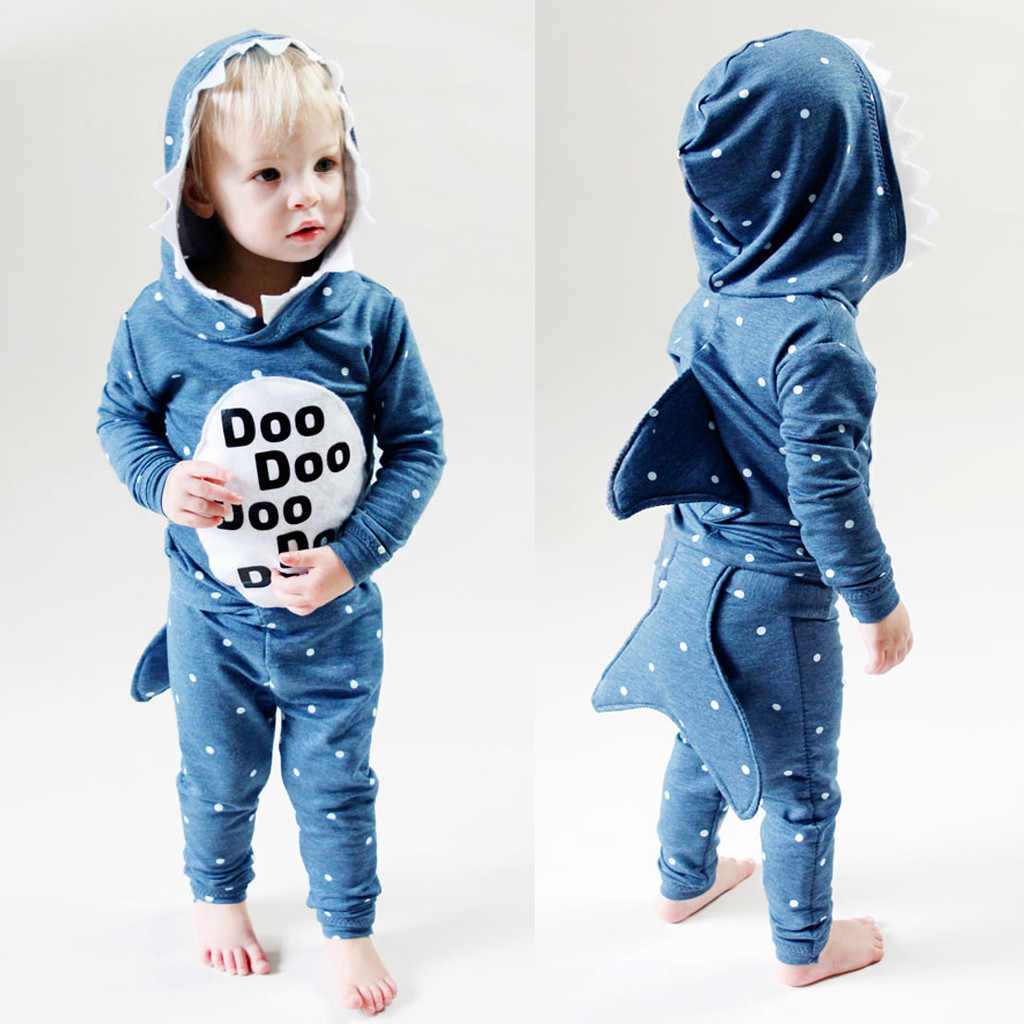 Cute Cartoon Boys Flannel Rompers Novelty Shark Cotton Toddler Girls Animal Rompers Stitch Infant Sets kigurumi Newborn 18M-5Y