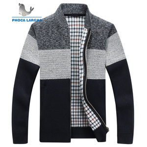 New Thick Men's Sweaters Cardigan Slim F