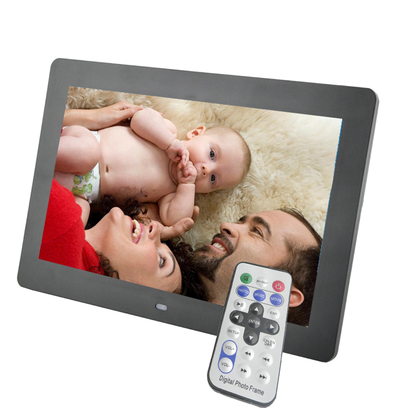 2017 New 10 Inch LED High Definition Screen Digital Photo Frame Electronic Album Picture Music MP3