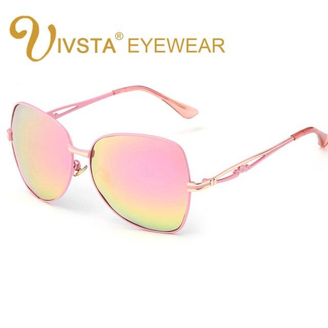 10f4ec3c755 IVISTA Big Frame Sunglasses Polarized Sun Glasses for Women Mirror Brand  Designer 2018 Diamond Fashion Steampunk Oversized Lady