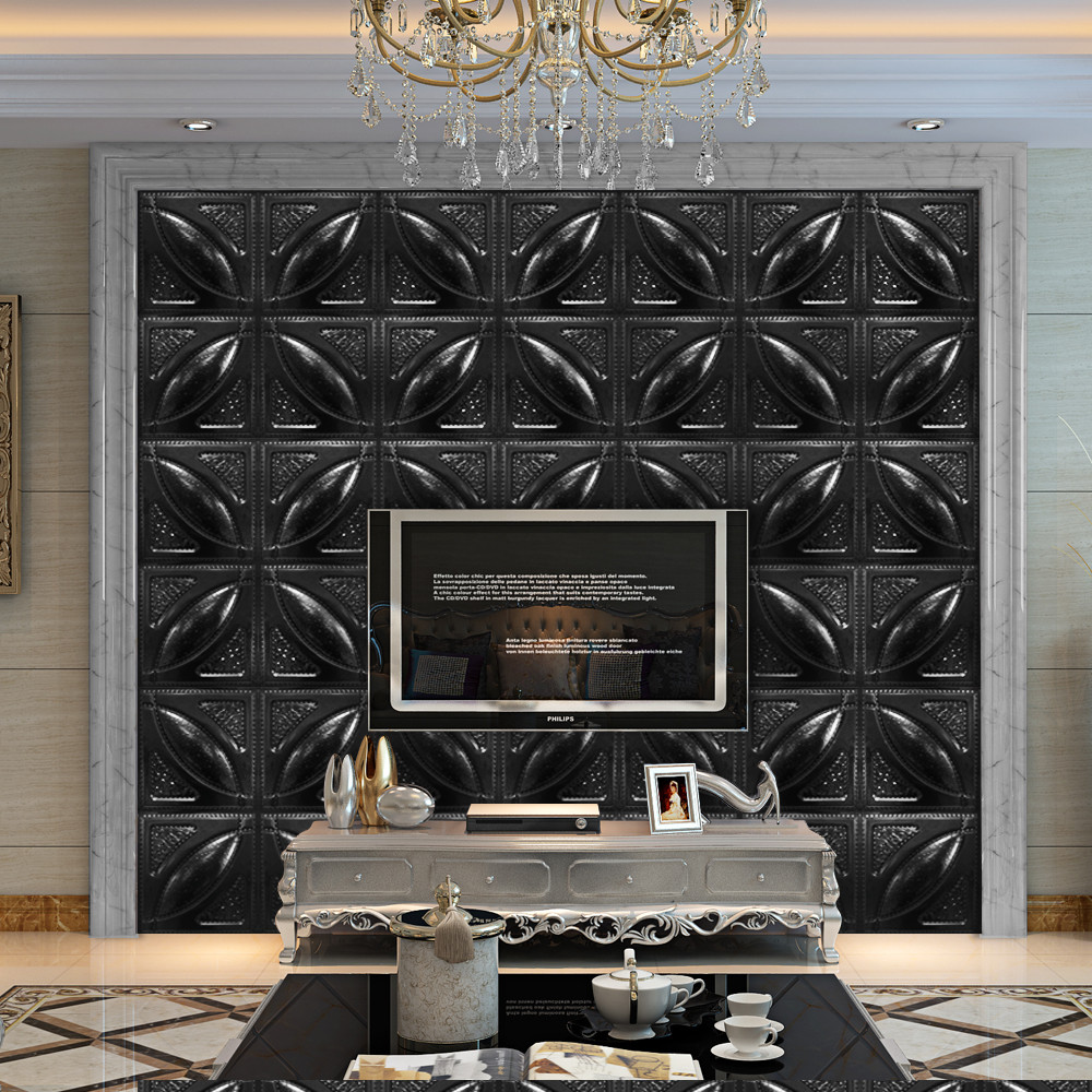 3D Brick Pattern Wallpaper Modern Wall Background TV Bedroom Decor 6 Types Wholesale Free Shipping 4RC29