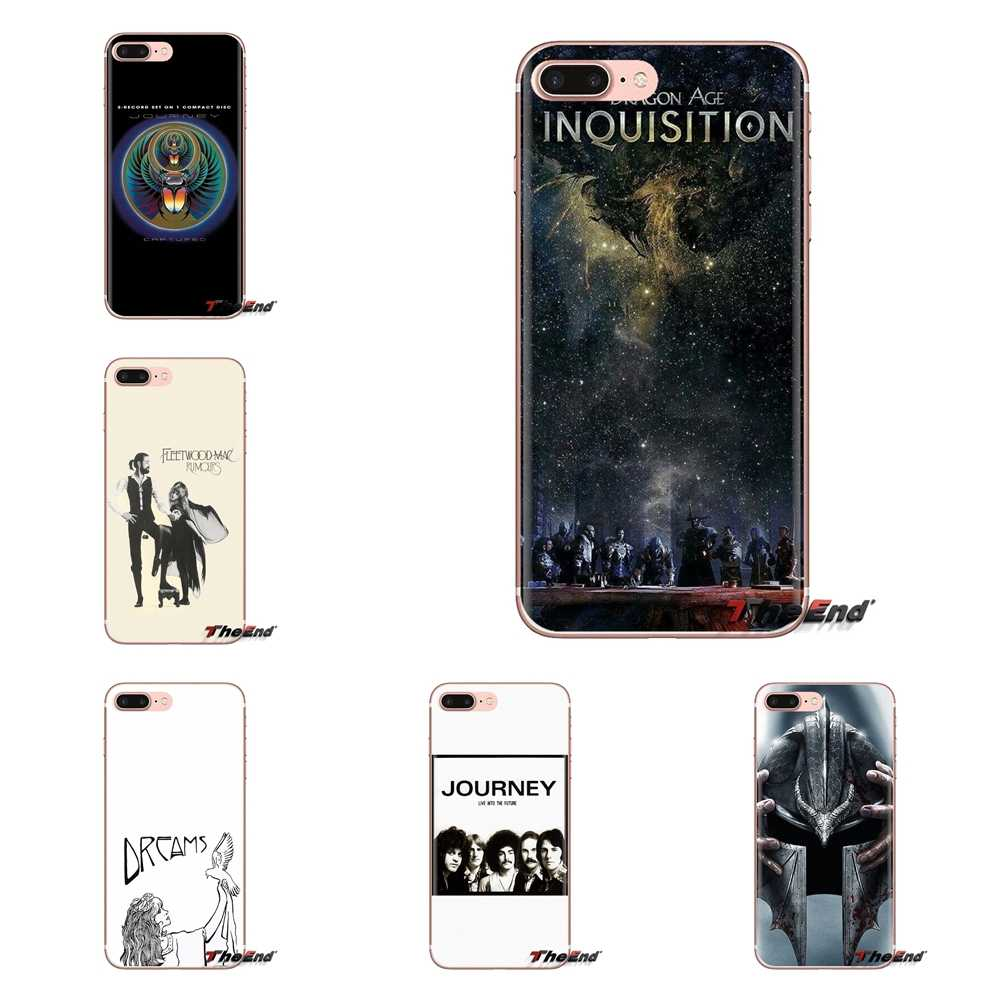 For Sony Xperia Z Z1 Z2 Z3 Z5 compact M2 M4 M5 C4 E3 T3 XA Huawei Mate 7 8 Y3II Ultra Thin Case Fleetwood Mac Journey Dragon Age