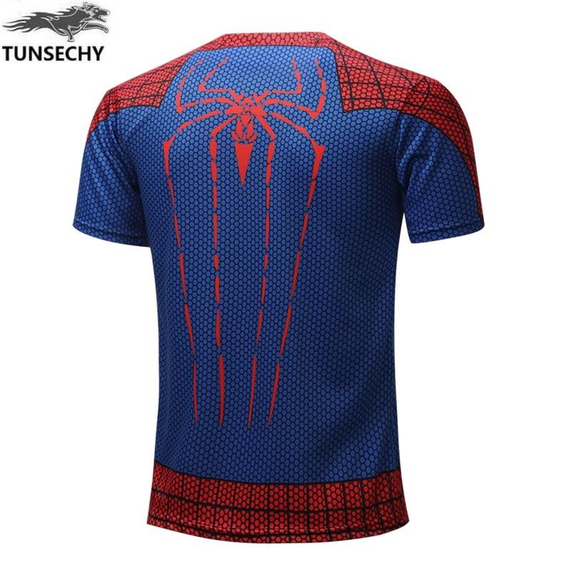 Batman Spiderman Ironman Superman Captain America Winter soldier T shirt Avengers Costume Comics Superhero mens 44