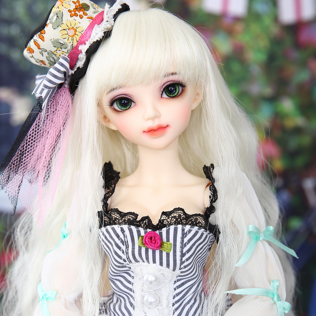 Free Shipping Minifee Sarang love Doll BJD 1/4 Sunshine Girl Thick Lips Love Smile Pretty Toy For Girls Fairyland MNF