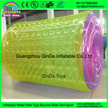 Clear inflatable water rolling ball, water zorb ball, water walking ball inflatable wheel roller