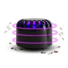 Mosquito Killer Light 2W USB Controlled Insect Killing Lamp ABS 12x9cm Fly Bug solar insect killer