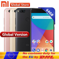 Global Version Xiaomi Mi A1 MiA1 Mobile Phone 4GB 64GB Smartphone Napdragon 625 Octa Core 12
