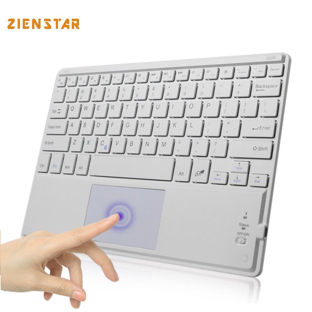 все цены на 10 inch Universal  Wireless Bluetooth keyboard with Touchpad For Samsung Tab/ Microsoft/  Android /Windows Tablet онлайн