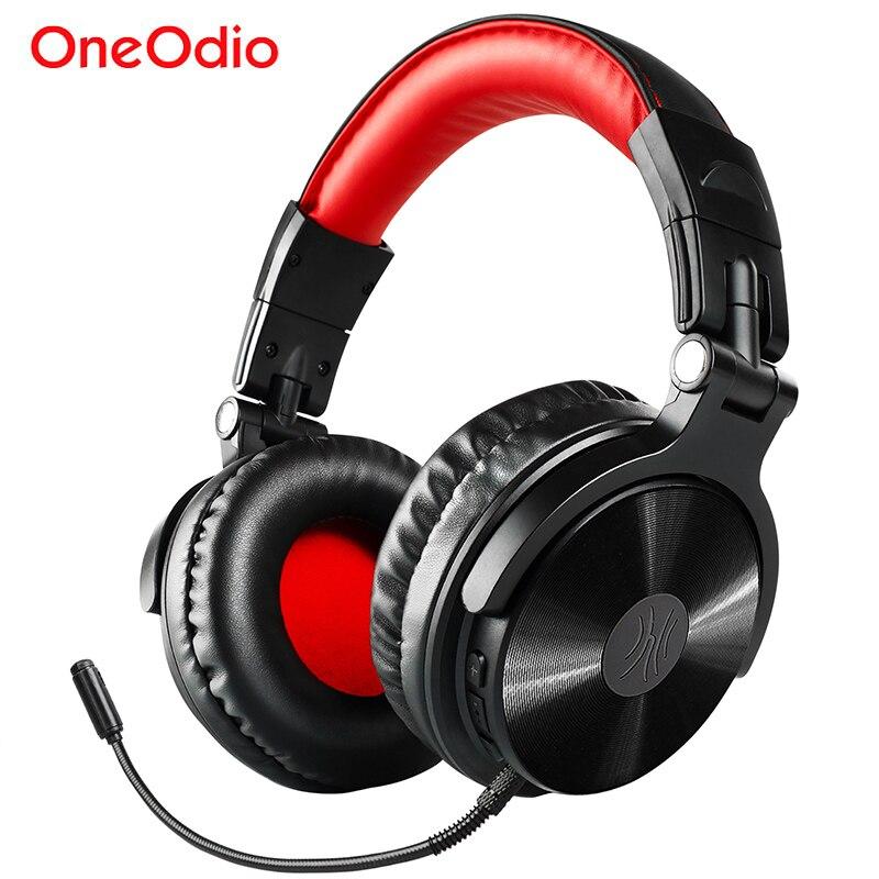 Oneodio Wireless Bluetooth Kopfhörer Mit Extended Mic HIFI Stereo Drahtlose Bluetooth 4,1 Gaming Headset Für Telefon Computer PC