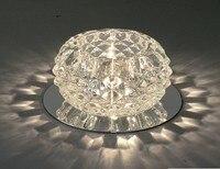 New Gorgeous Modern Crystal Pendant Warm White Lamp Officie Ceiling Decor Lighting Chandelier Light