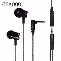 HF800 Earphones In Ear Earphone Ceramic HiFi Subwoofer Earbuds HD Stereo Bass Earphone IE800 Hot With