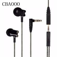 Big sale HF800 earphones In Ear Earphone Ceramic HiFi Subwoofer Earbuds IE800 HD Stereo Bass earphone Hot
