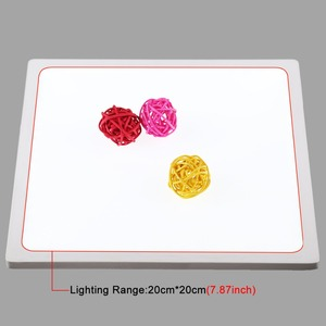 Image 3 - Mini ışık kutusu fotoğraf stüdyosu 22.5 LED fotoğraf gölgesiz alt ışık gölge ücretsiz işık lambası paneli 20 cm fotoğraf stüdyo