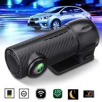 1080P Full HD WIFI Mini Car DVR Camera Night Vision 360 Degree Rotating Dash Cam Video Driving Recorder Paking monitor G sensor