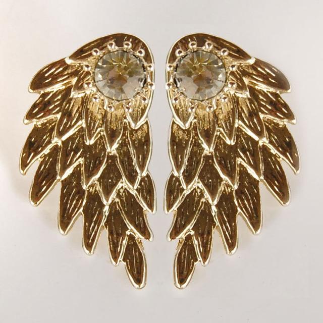 Модные Сережки Ангельские крылья в ассортименте 4