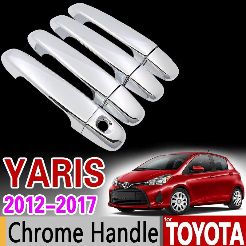 New Durable Triple Chrome Door Handle Covers Trims For Toyota Rav4 RAV-4 2006 2007 2008 2009 2010 2011 2012 99/_OnLine