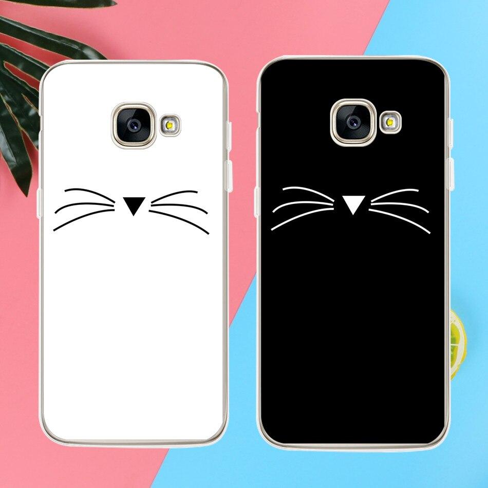 Cat <font><b>Phone</b></font> <font><b>Case</b></font> For iPhone 5 5S SE 6 6S 7 Plus For Samsung Galaxy S3 <font><b>S5</b></font> S6 S7 Edge S8 Plus J3 J5 J7 A3 A5 2016 2017 Grand Prime