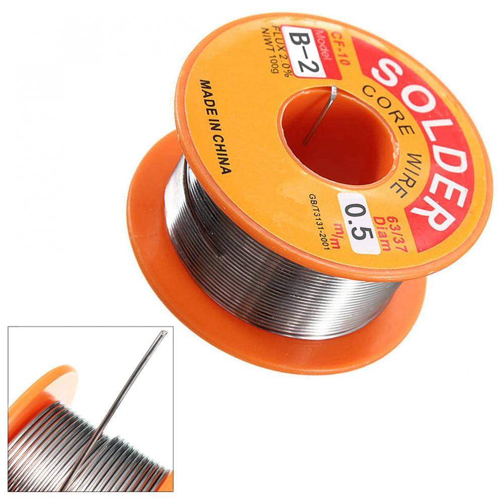 Tools 63/37 45ft 0.5 0.6 0.8mm 100g Tin Lead Solder Flux Soldering Welding Iron Wire Reel For Electronic Product Maintenance Do You Want To Buy Some Chinese Native Produce?
