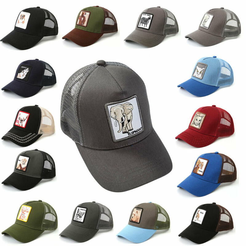 New Snapback Trucker BASEBALL Hat Cap Adjustable Animal Farm