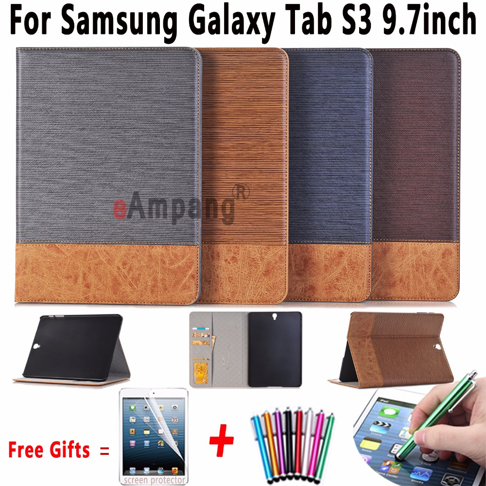 Slim Bag For Samsung Galaxy Tab S3 9.7 T820 Cover Case Stander PU Leather Flip Cover For Samsung Galaxy Tab S3 9.7 T825 Case case for samsung galaxy tab s3 9 7 slim folding flip stand cover pu leather t820 t825 gifts