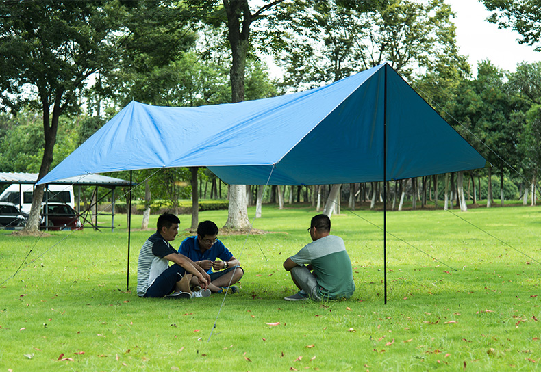 ФОТО Naturehike Outdoor Camping Travel Tent Portable Waterproof Canopy Awning Sun block Sunshade Shelter  Camping Equipment